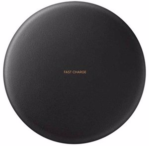 شارژر وایرلس کانورتیبل Samsung Convertible Wireless Charger Black From Side Front