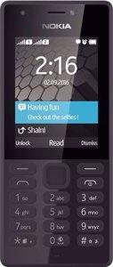 گوشی موبایل نوکیا مدل Nokia 216 Black Front