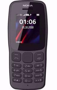 گوشی موبایل نوکیا مدل Nokia 106 Front black