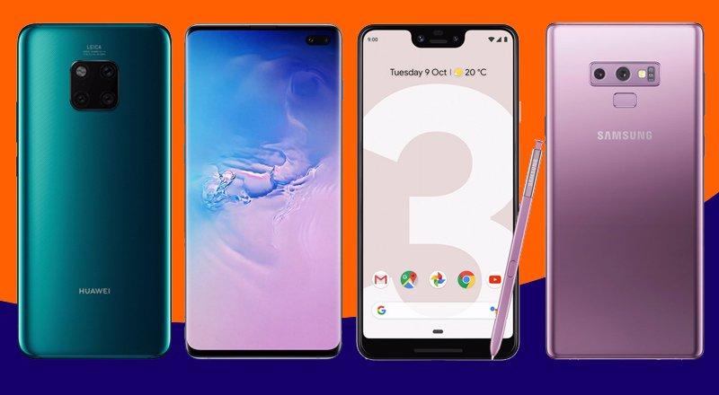 جستجو برای بهترین گوشی موبایل اندروید ۲۰۱۹